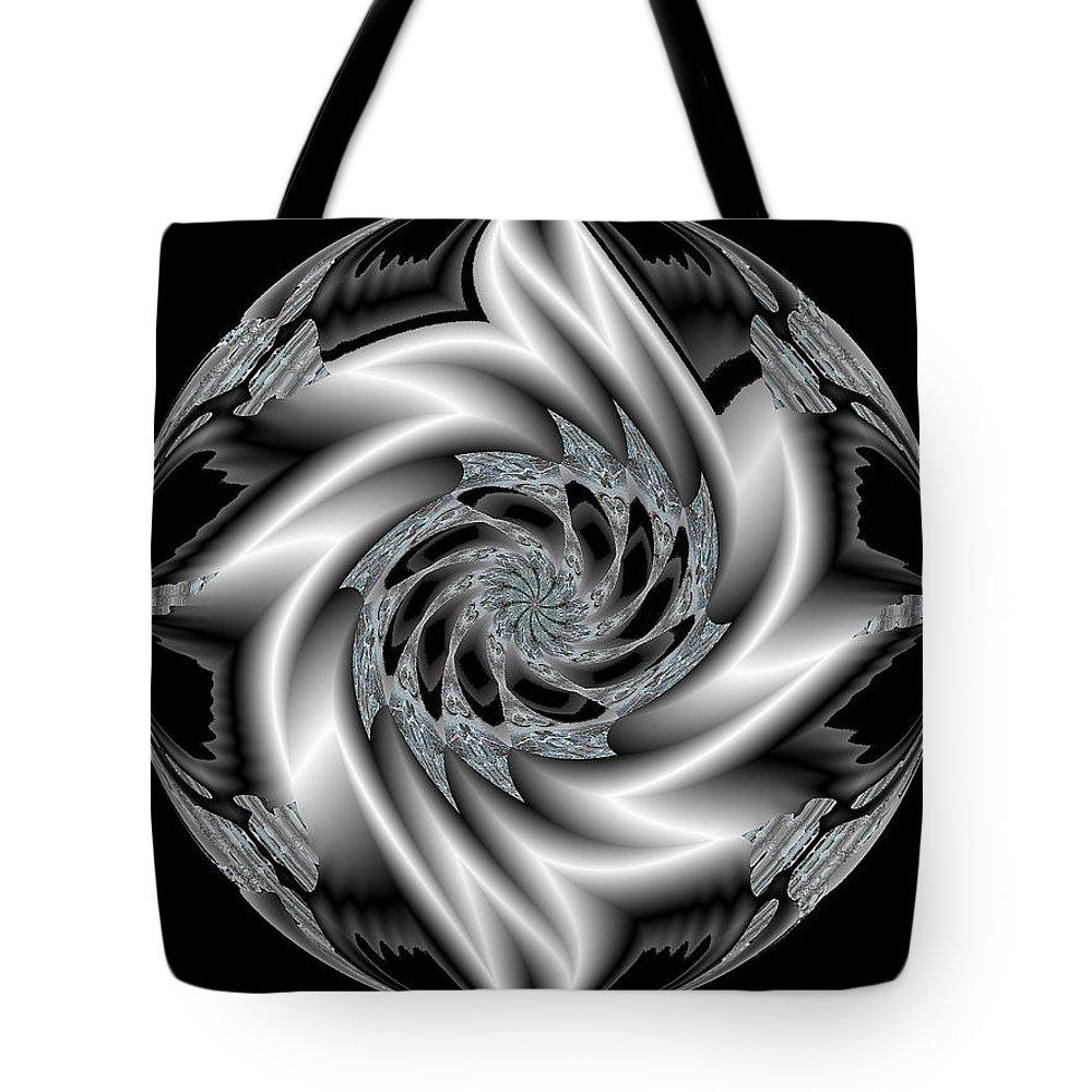 Pin Tote Bag featuring the digital art Pin Ball Wizard by Michael Damiani