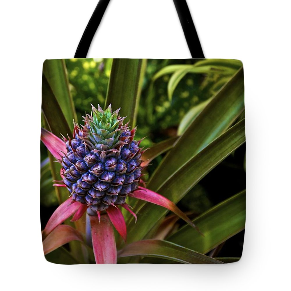 Pineapple Tote Bag featuring the photograph Pineapple Royal by Jade Moon