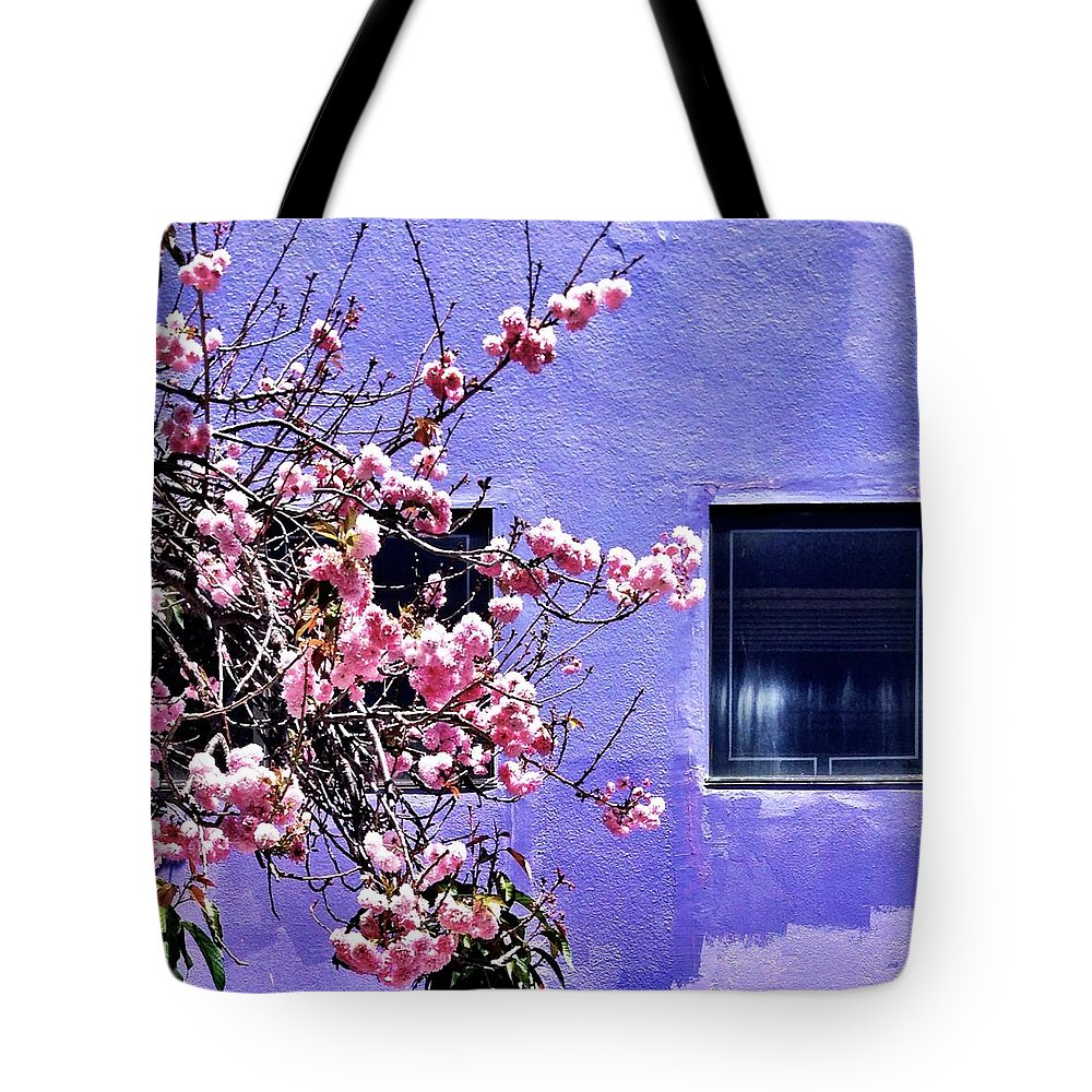 Flowers Tote Bag featuring the photograph Pink Flowers by Julie Gebhardt