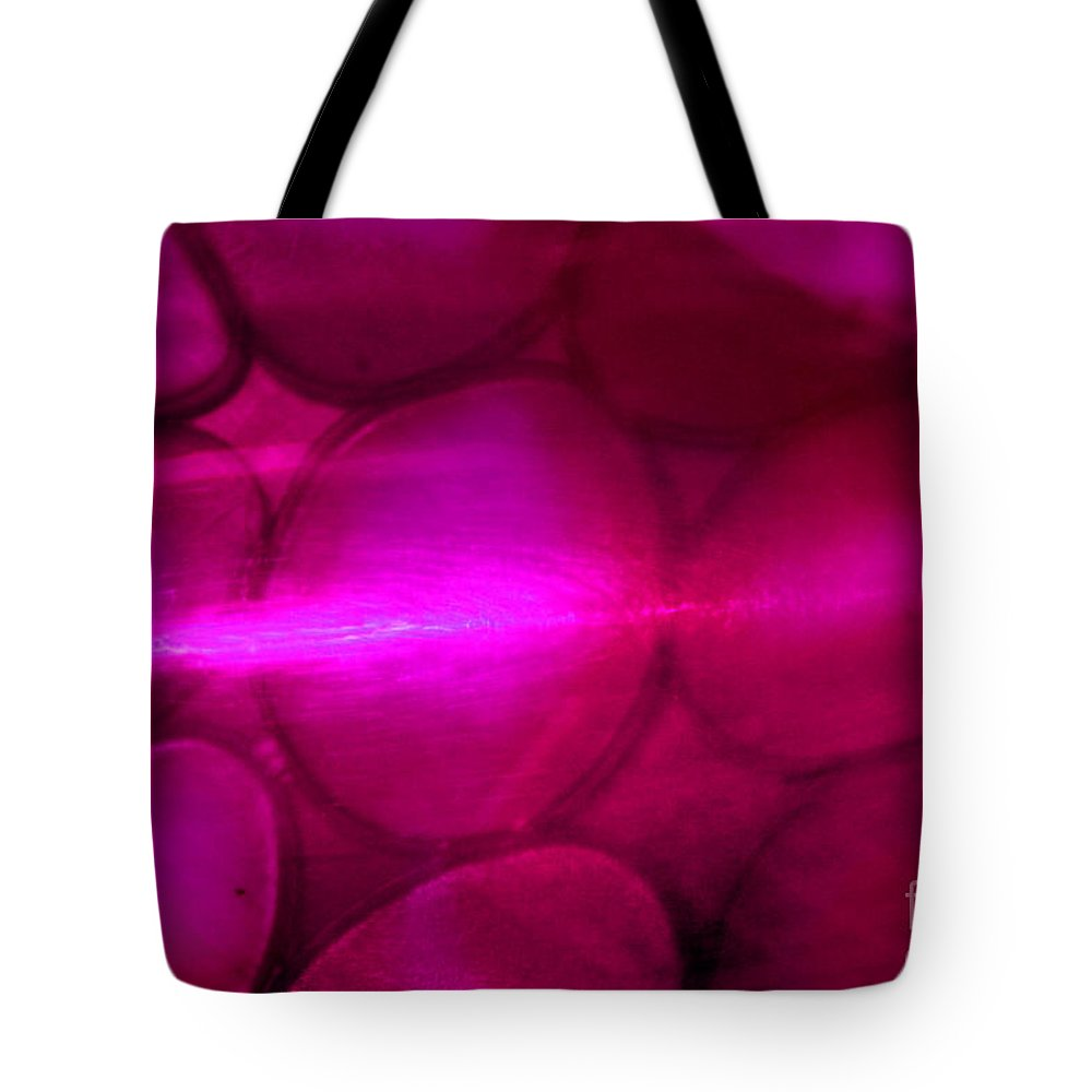 Purple Tote Bag featuring the photograph Pink Passion by Karen Adams