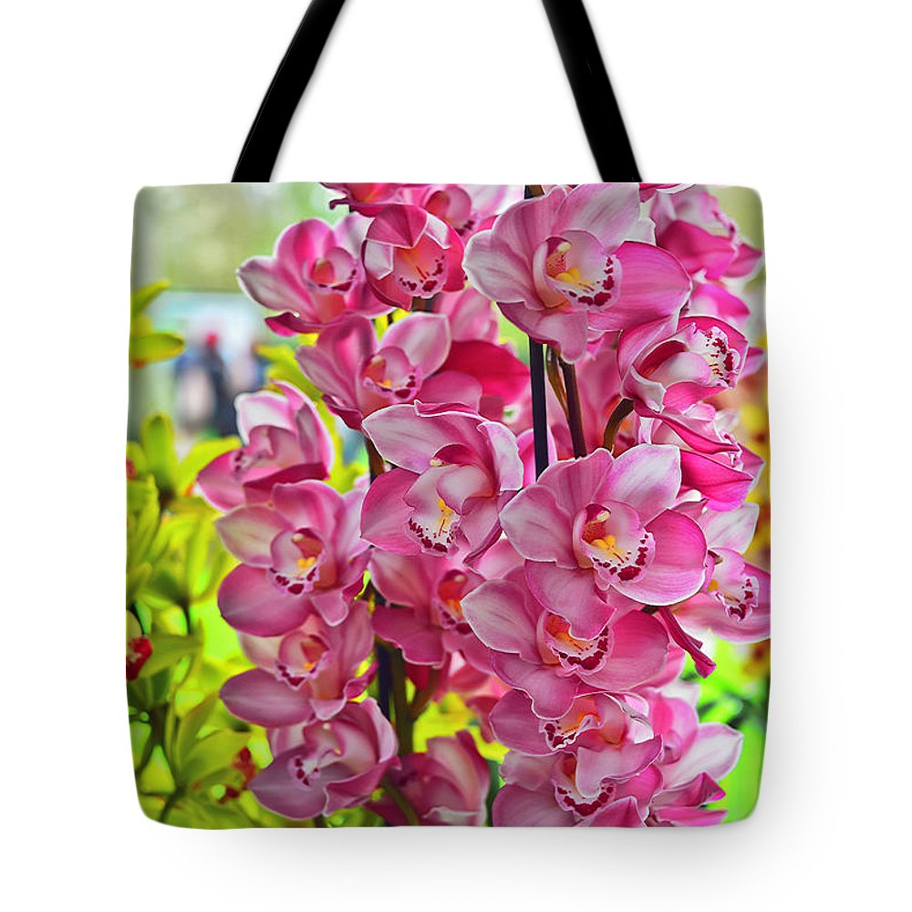 Travel Tote Bag featuring the photograph Pink Shadows by Elvis Vaughn