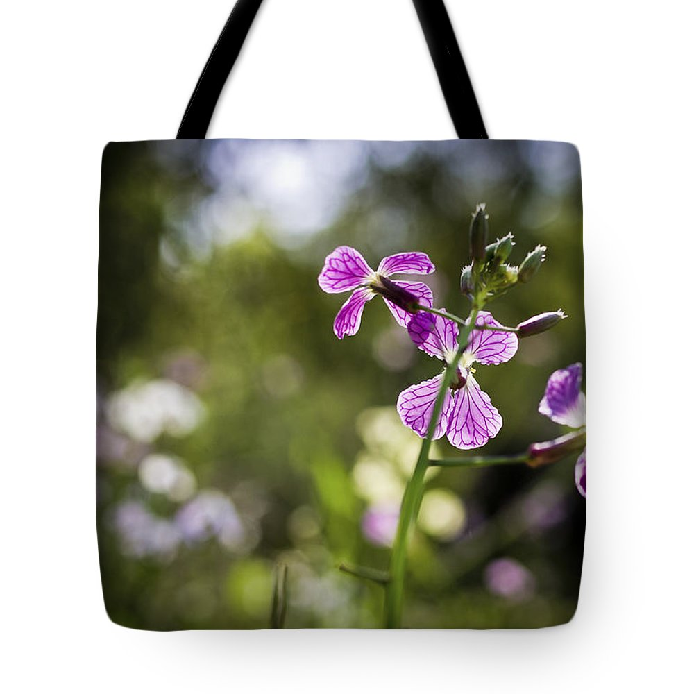 Veins Tote Bag featuring the photograph Pink Veins by Priya Ghose