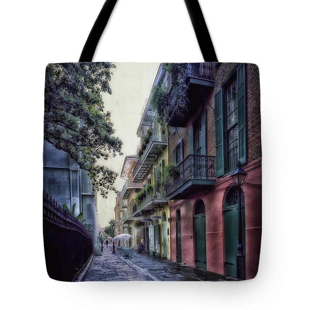 New Orleans Tote Bag featuring the photograph Pirate's Alley In New Orleans by Mountain Dreams