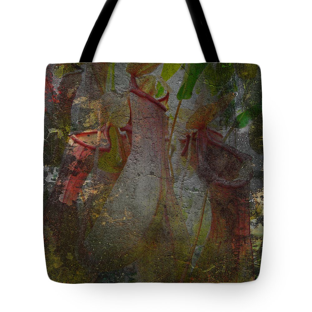 Abstract Tote Bag featuring the photograph Pitch Perfect by Mother Nature