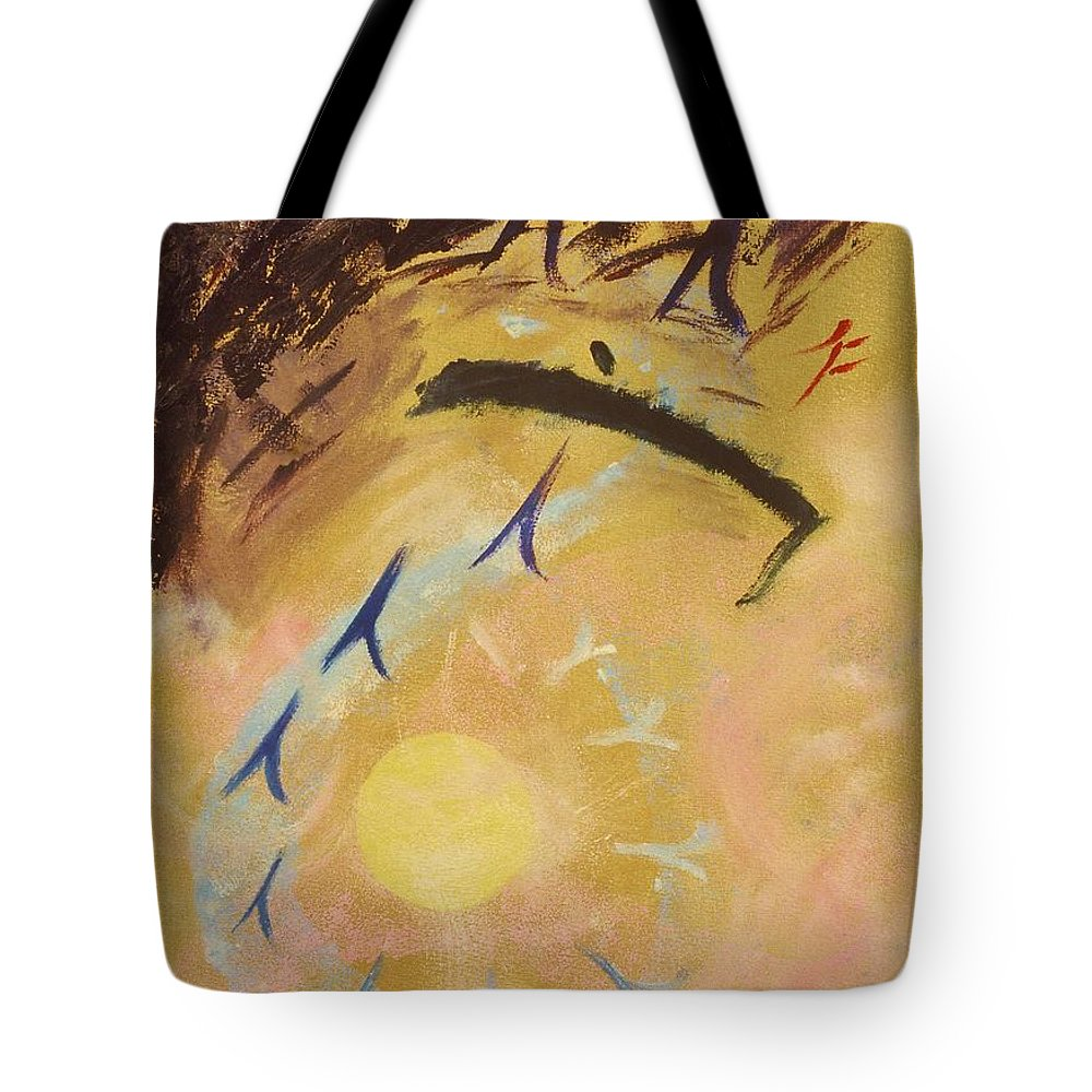 Painting Tote Bag featuring the painting Place Of Light by Karen Francis