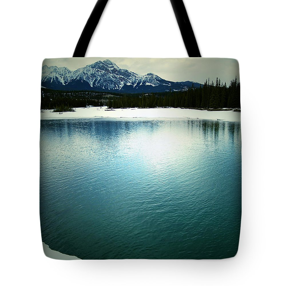 Mountains Tote Bag featuring the photograph Placid Hills by The Artist Project