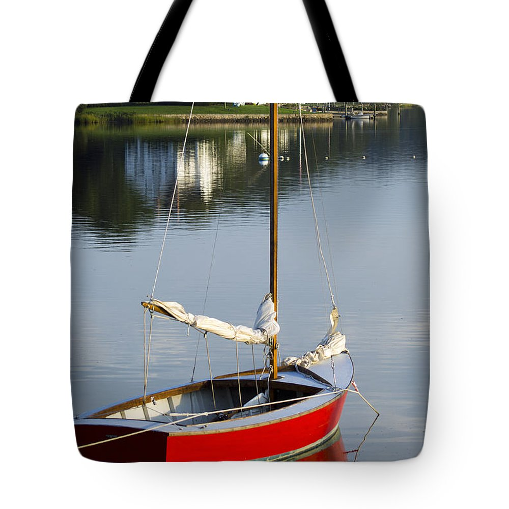 Sail Tote Bag featuring the photograph Placidity by Joe Geraci