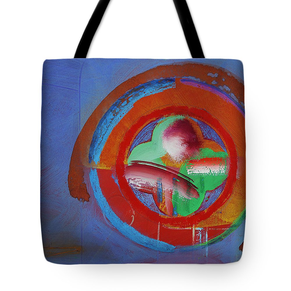 Planet Earth Art Tote Bag featuring the painting Planet Earth by Charles Stuart