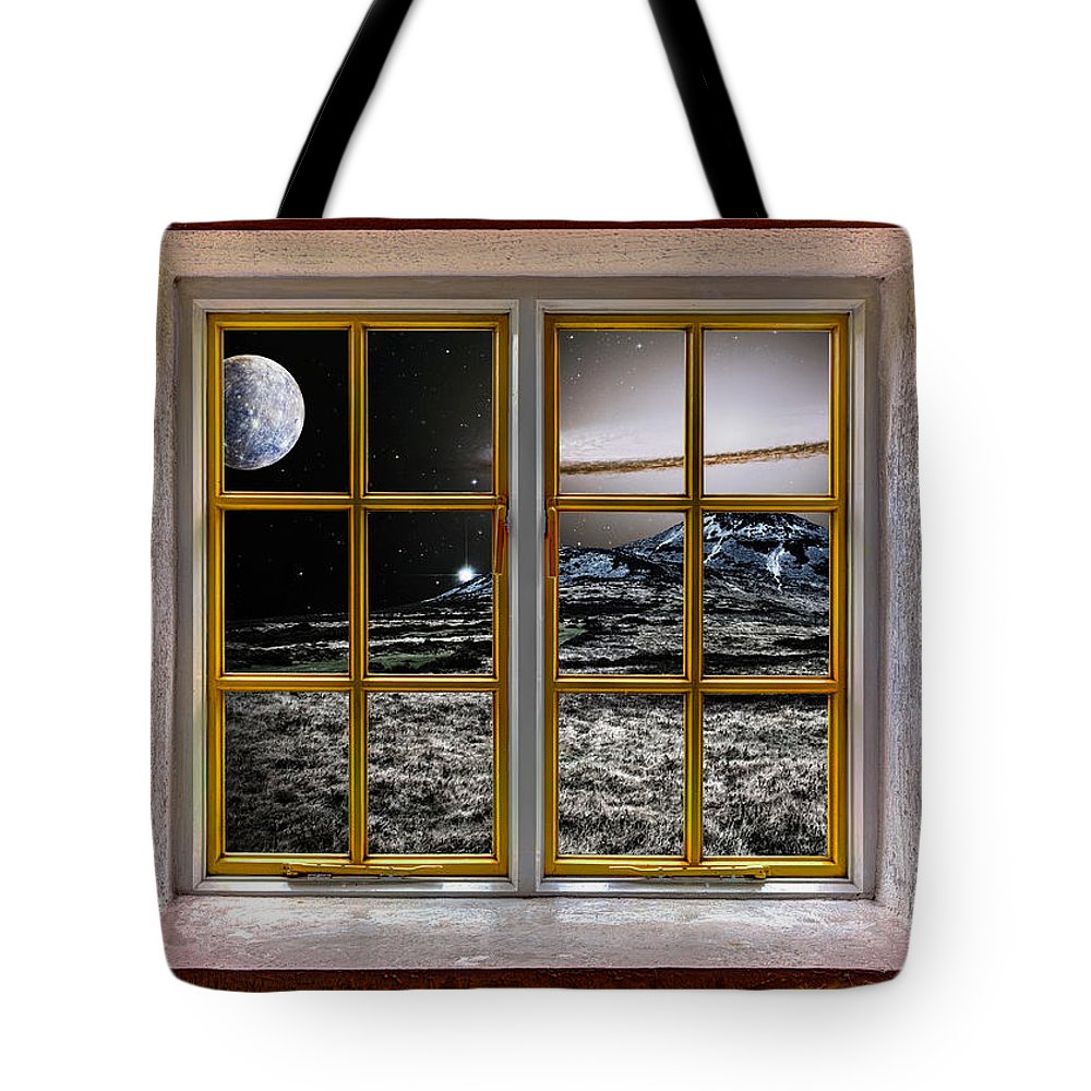 Architecture Tote Bag featuring the photograph Planetscape by Semmick Photo