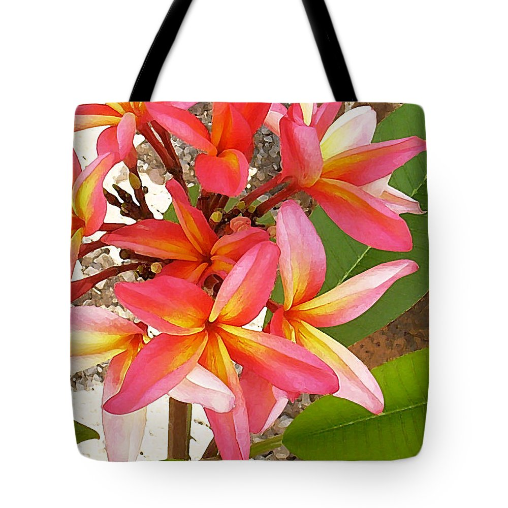 Hawaii Iphone Cases Tote Bag featuring the photograph Plantation Plumeria by James Temple