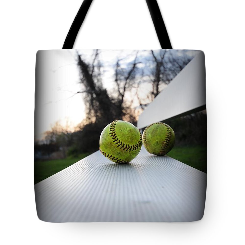 Paul Ward Tote Bag featuring the photograph Play Ball by Paul Ward