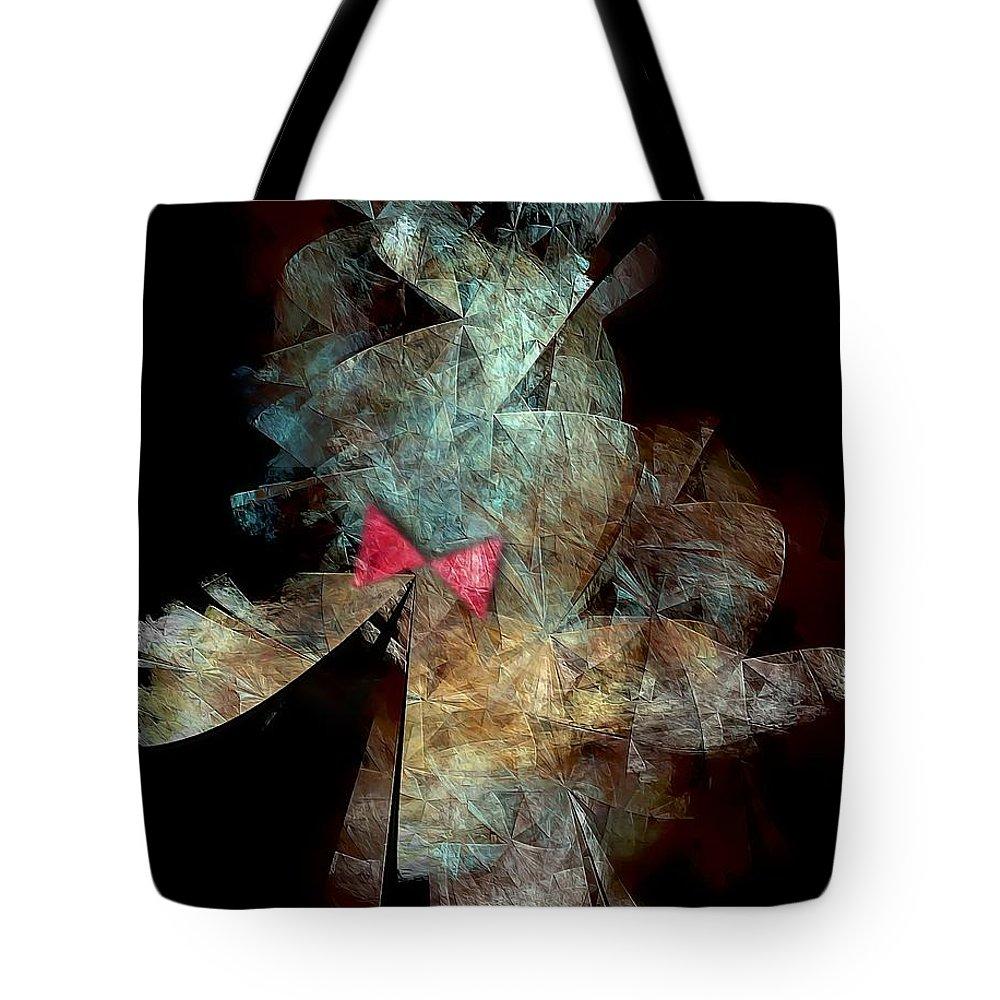 Graphics Tote Bag featuring the digital art Playboy 0583 Marucii by Marek Lutek