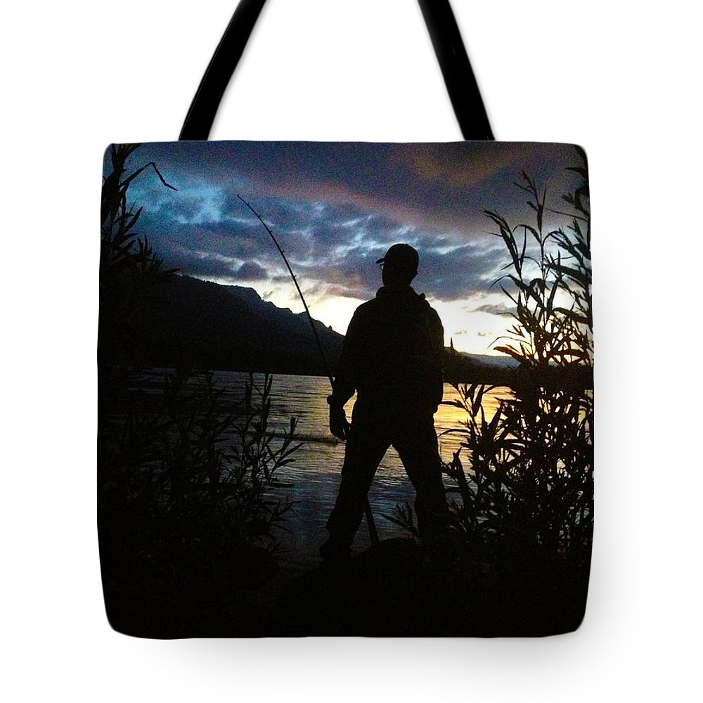 Morning Tote Bag featuring the photograph Plunked by Sara Stevenson