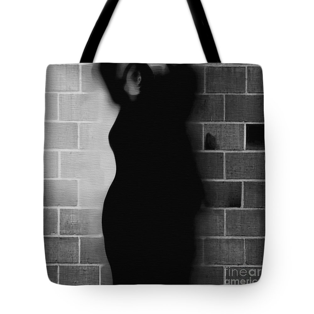 Black Tote Bag featuring the photograph Poised For Growth by Jessica Shelton