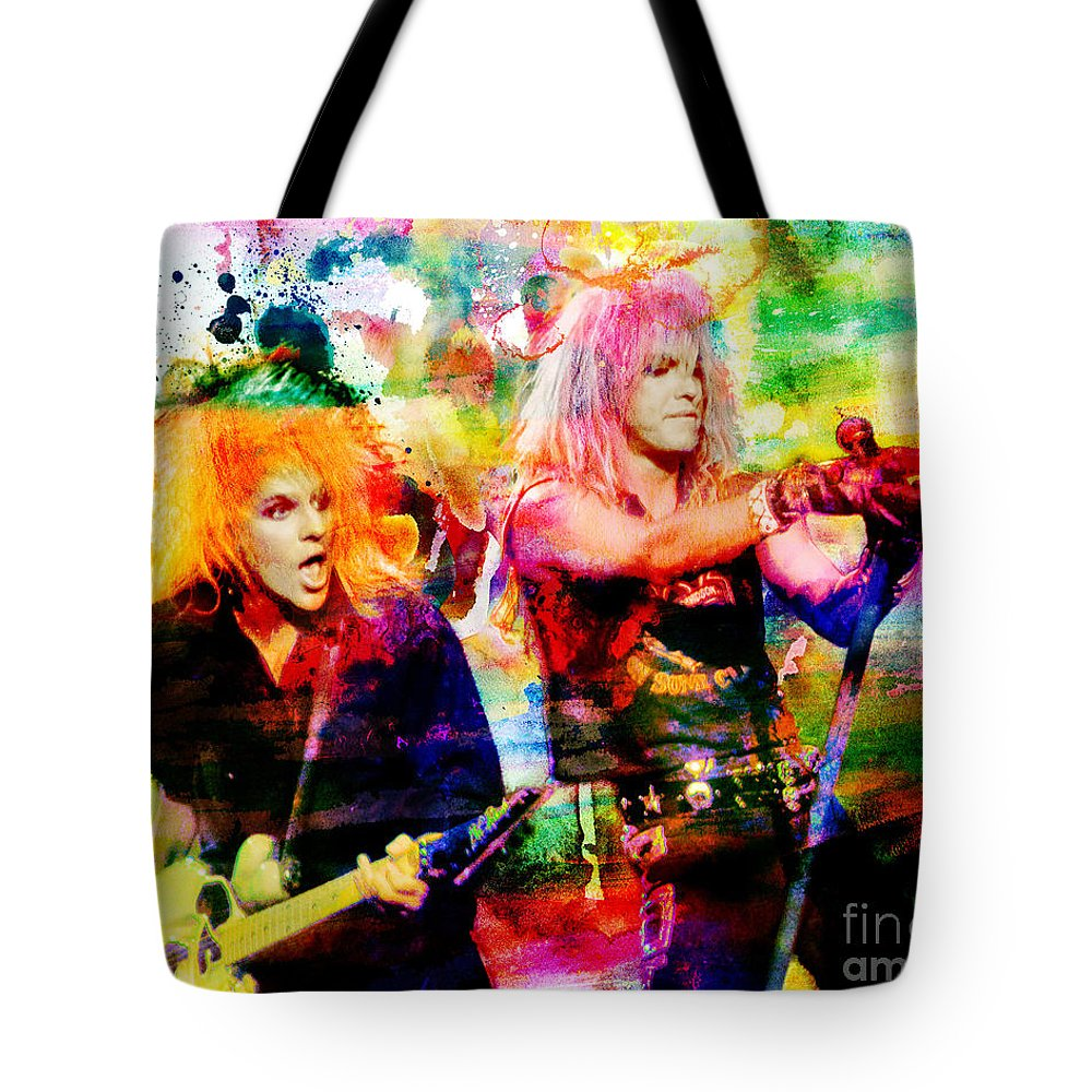 Art Tote Bag featuring the painting Poison Original Painting Print by Ryan Rock Artist