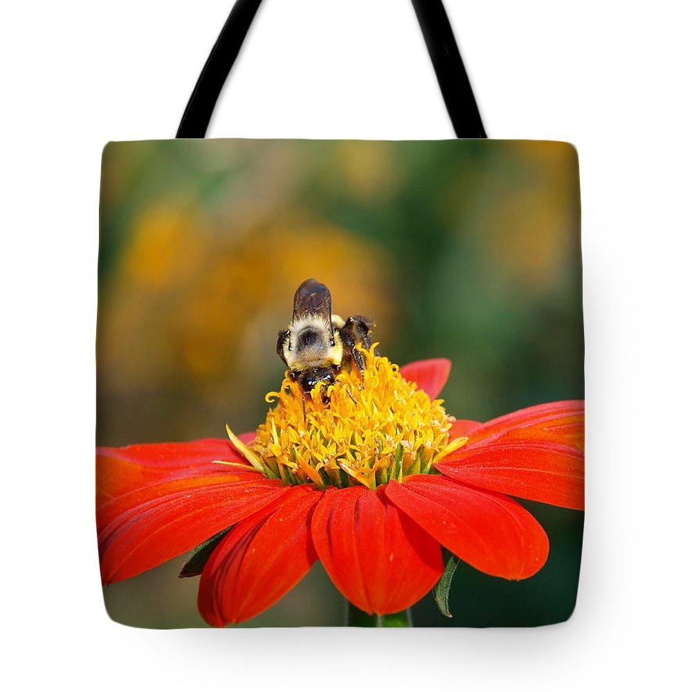 Nature Tote Bag featuring the photograph Pollinator by James Peterson