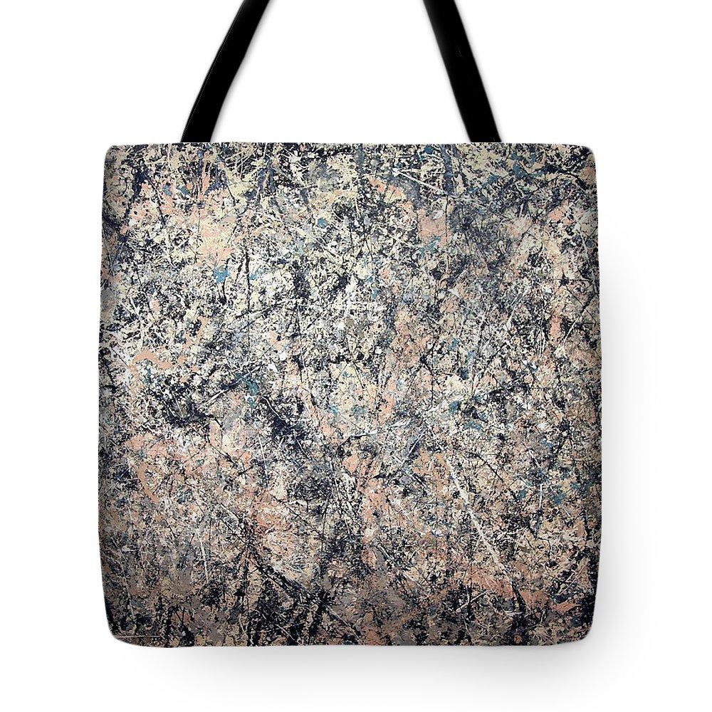 Jackson Pollock Tote Bags