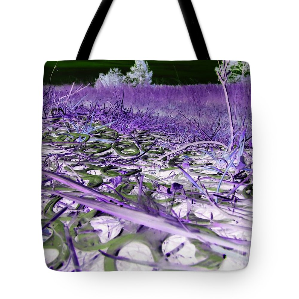 Abstract Tote Bag featuring the photograph Pop Art a06 by Rrrose Pix