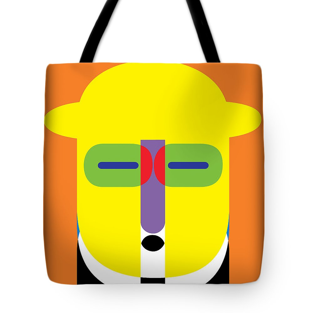 Pop Tote Bag featuring the photograph Pop Art People 11 by Edward Fielding