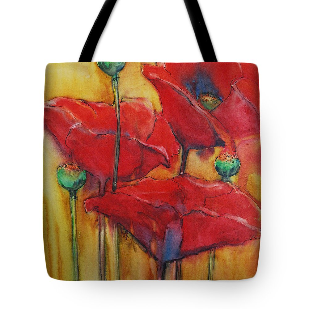 Secondary Colors Mixed Media Tote Bags