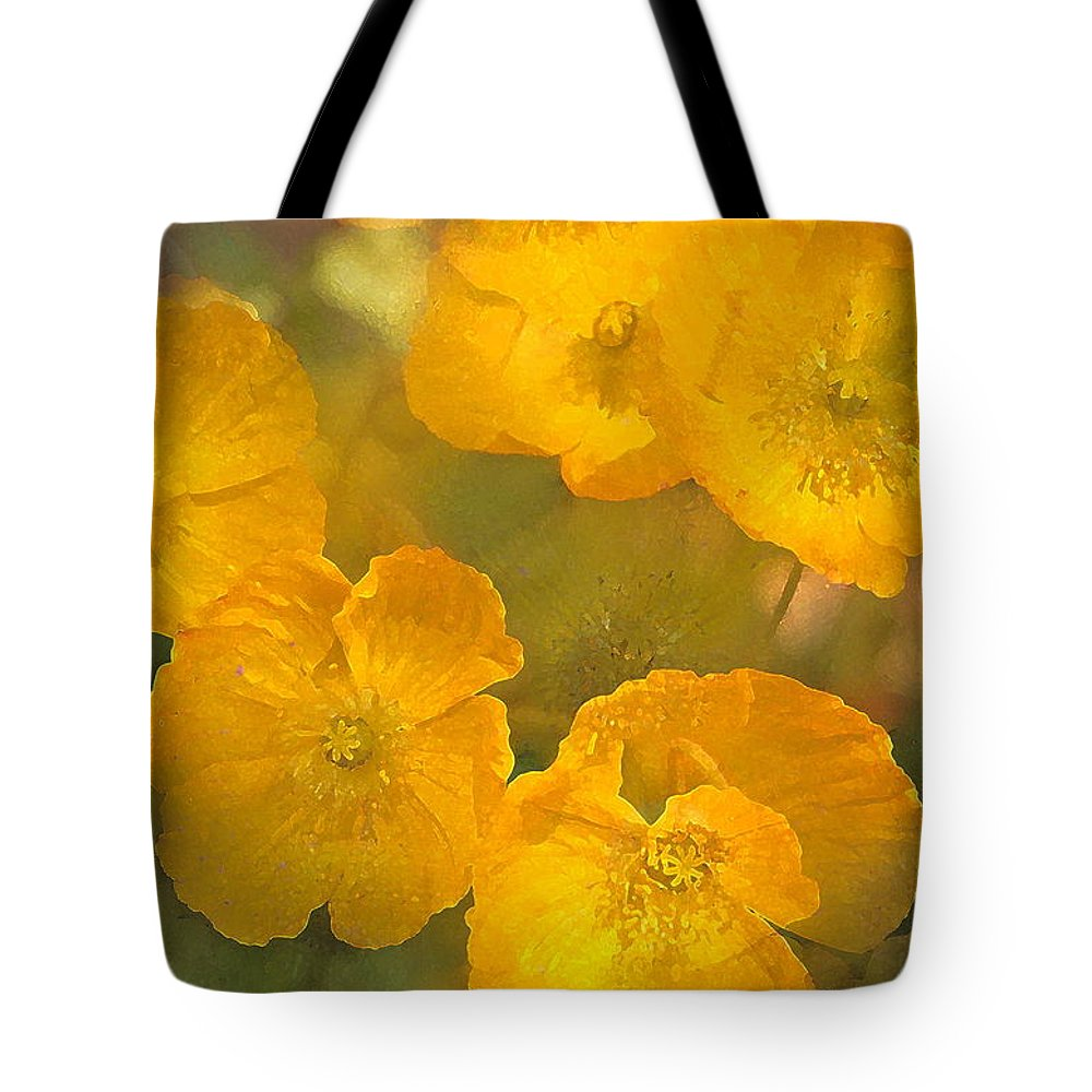 Floral Tote Bag featuring the photograph Poppy 29 by Pamela Cooper