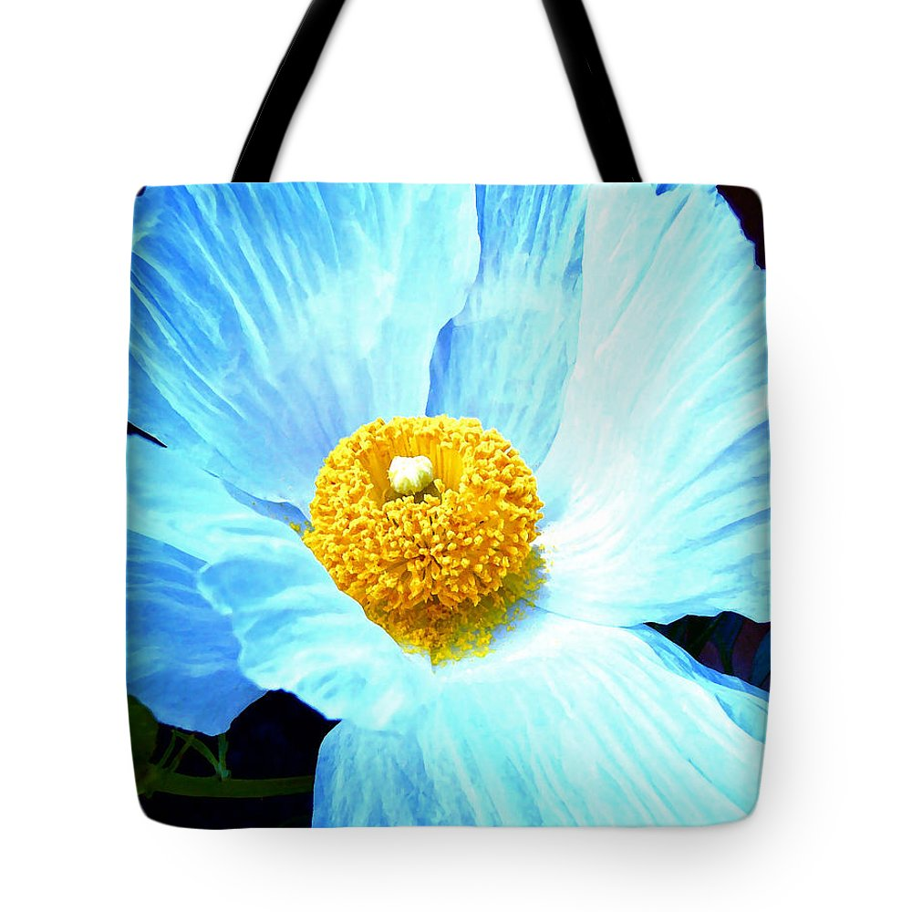 Flower Tote Bag featuring the photograph Poppy 8 by Pamela Cooper