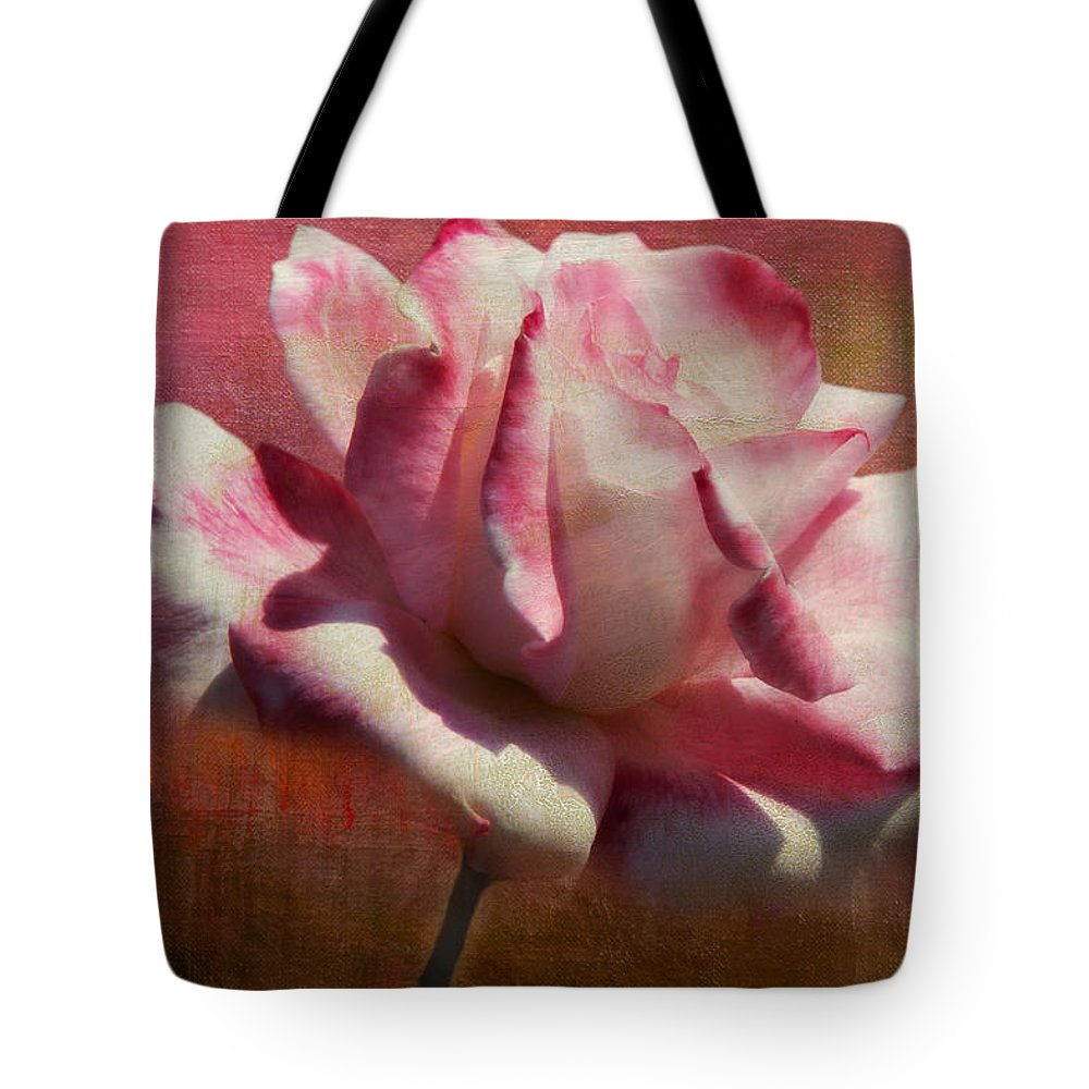 Botanicals Tote Bag featuring the photograph Poppy Rose by Linda Dunn
