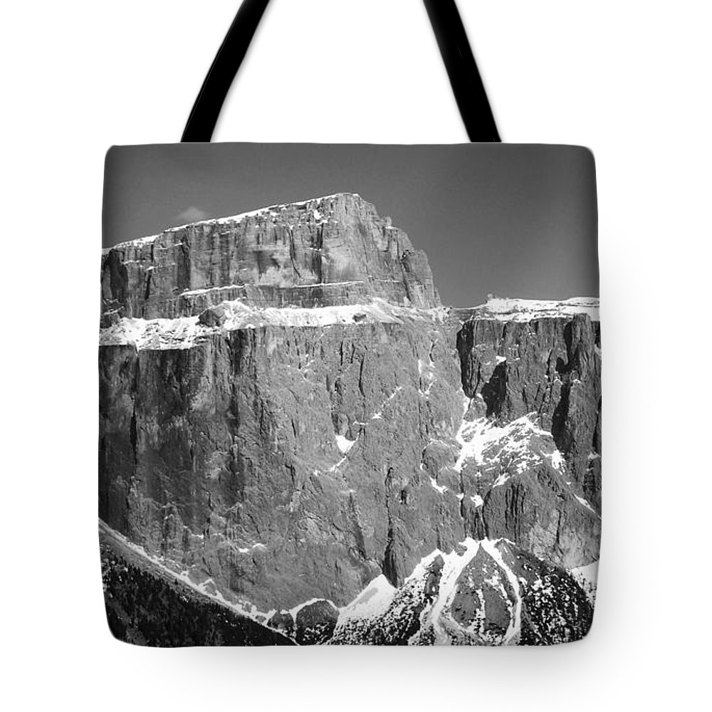 Europe Tote Bag featuring the photograph Pordoi Joch - Italy by Juergen Weiss