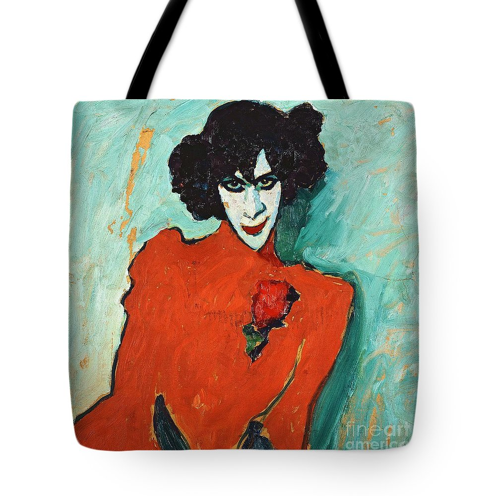 U.s.pd Tote Bag featuring the painting Portrait Alexander Sakharoff by Pg Reproductions