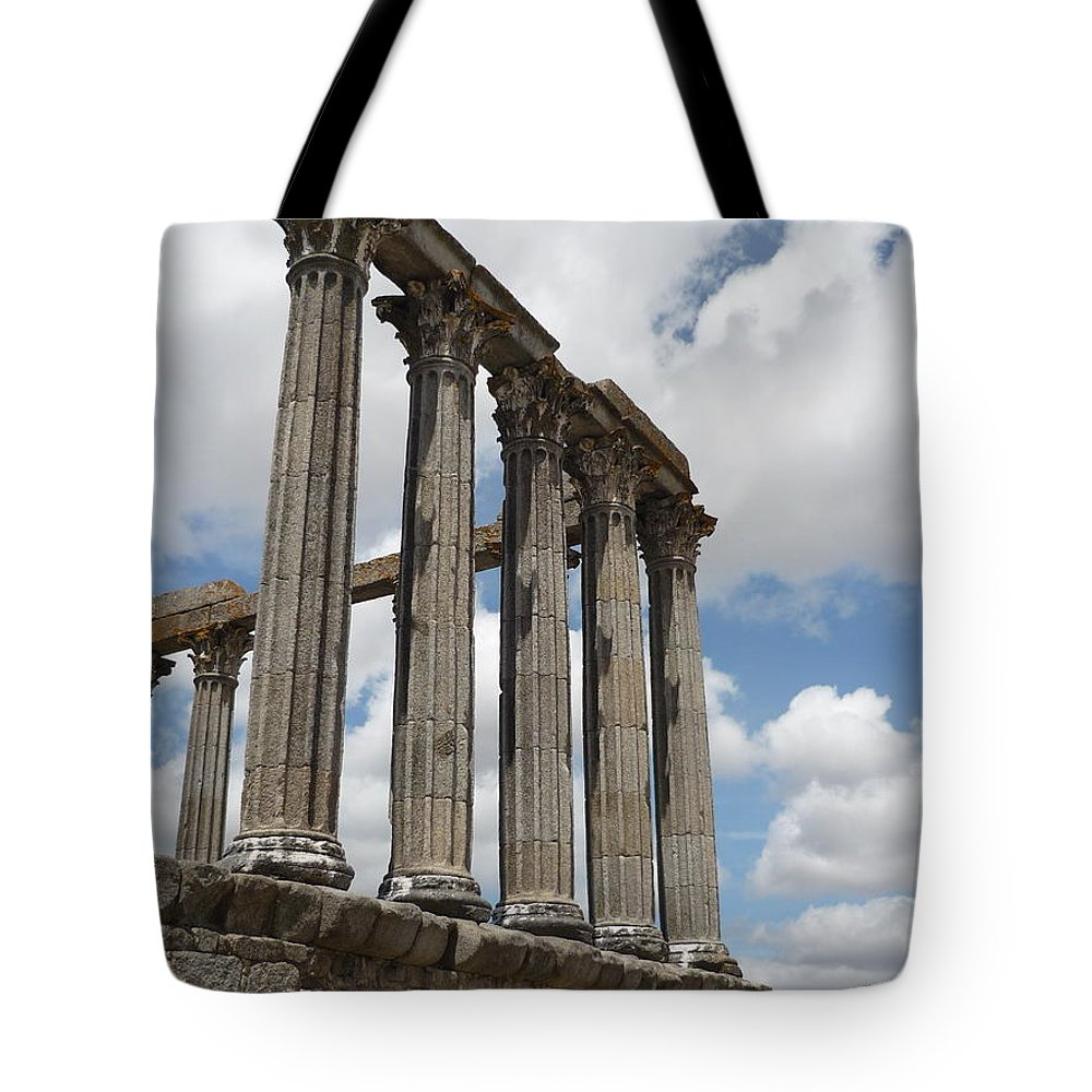 Architecture Tote Bag featuring the photograph Portugal 2 by Kimberly Maxwell Grantier