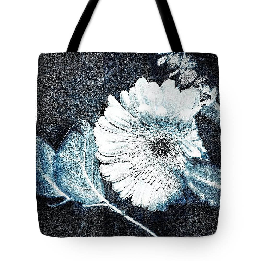 Flower Tote Bag featuring the photograph Positively Negative by Sue Small