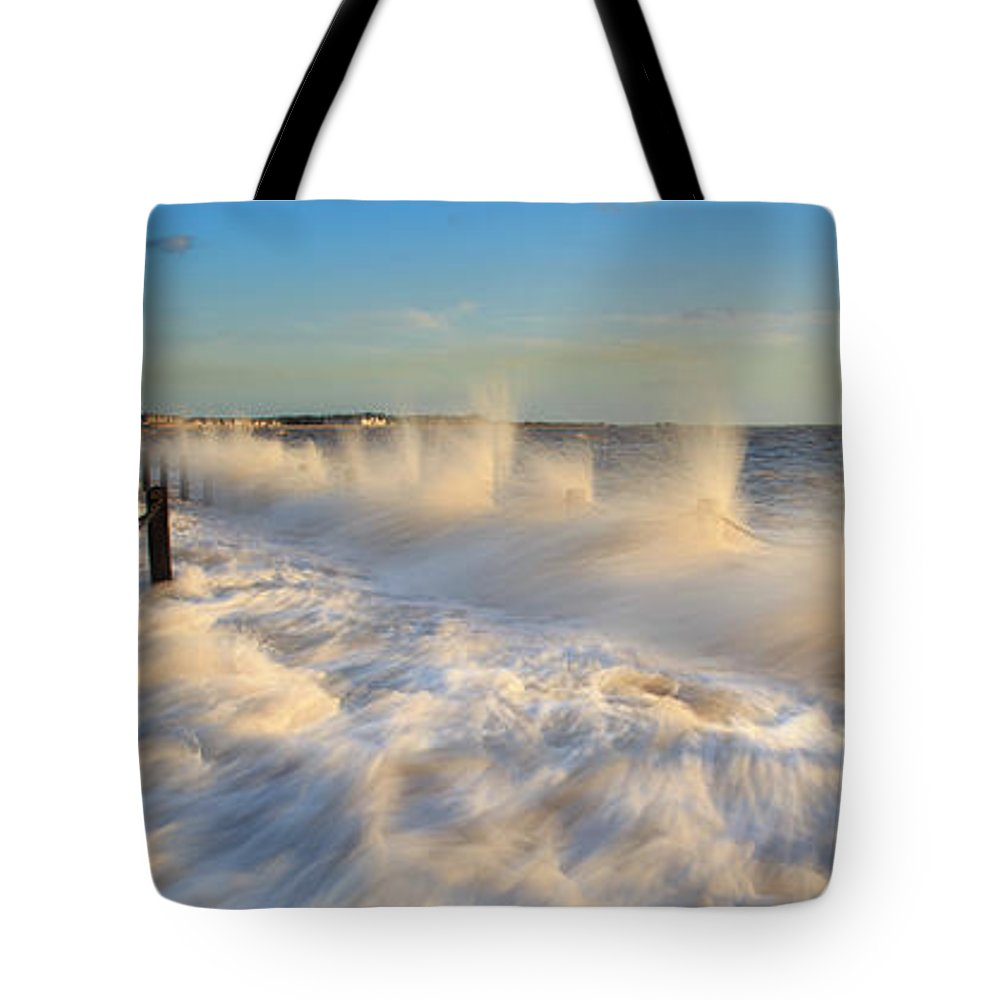Tranquility Tote Bag featuring the photograph Post Haste by A Pixelsuzy Image