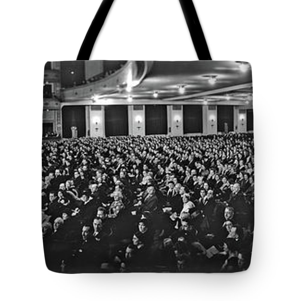 Photography Tote Bag featuring the photograph Post Opera - December 1927, The Newly by Fred Schutz Collection