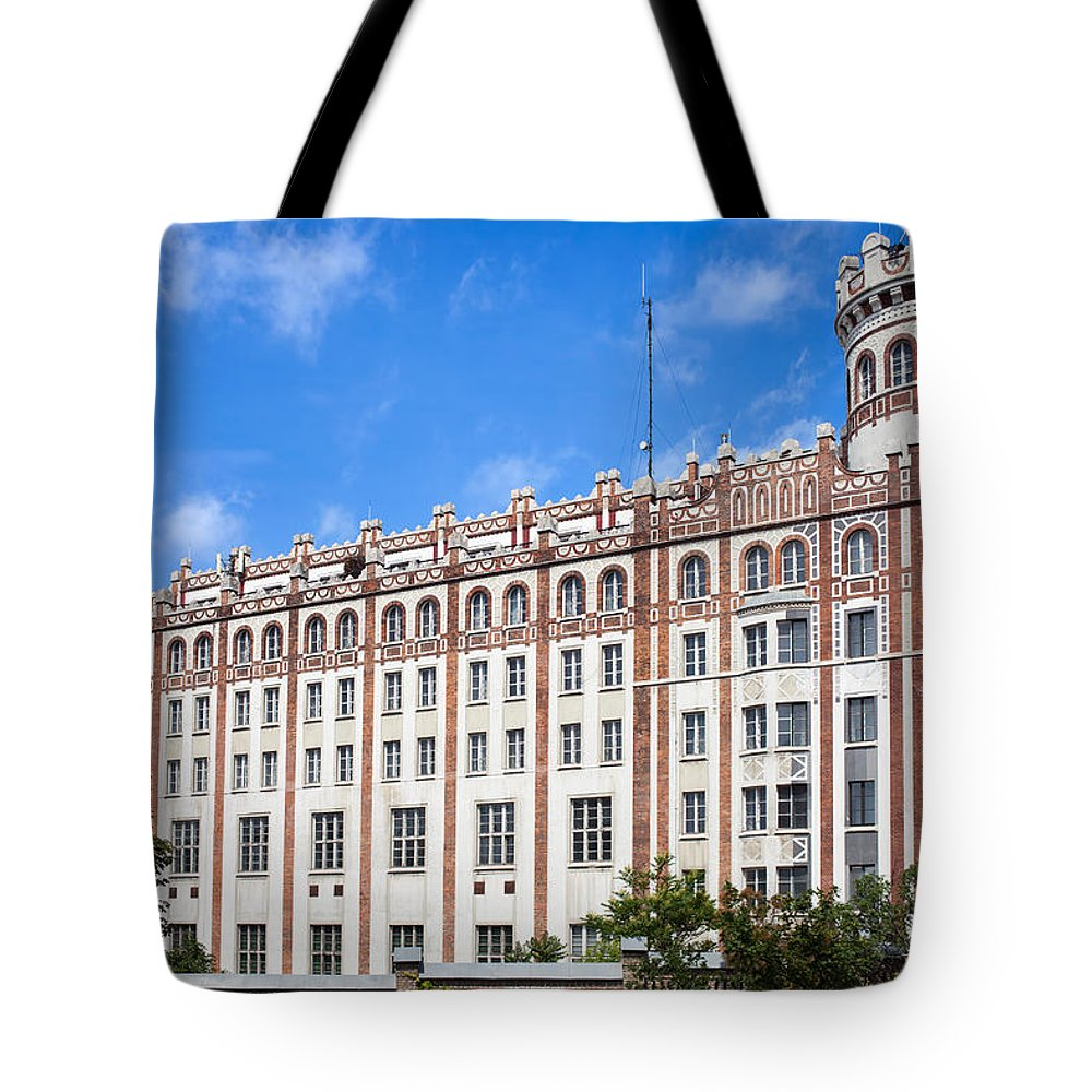 Postal Tote Bag featuring the photograph Post Palace In Budapest by Artur Bogacki