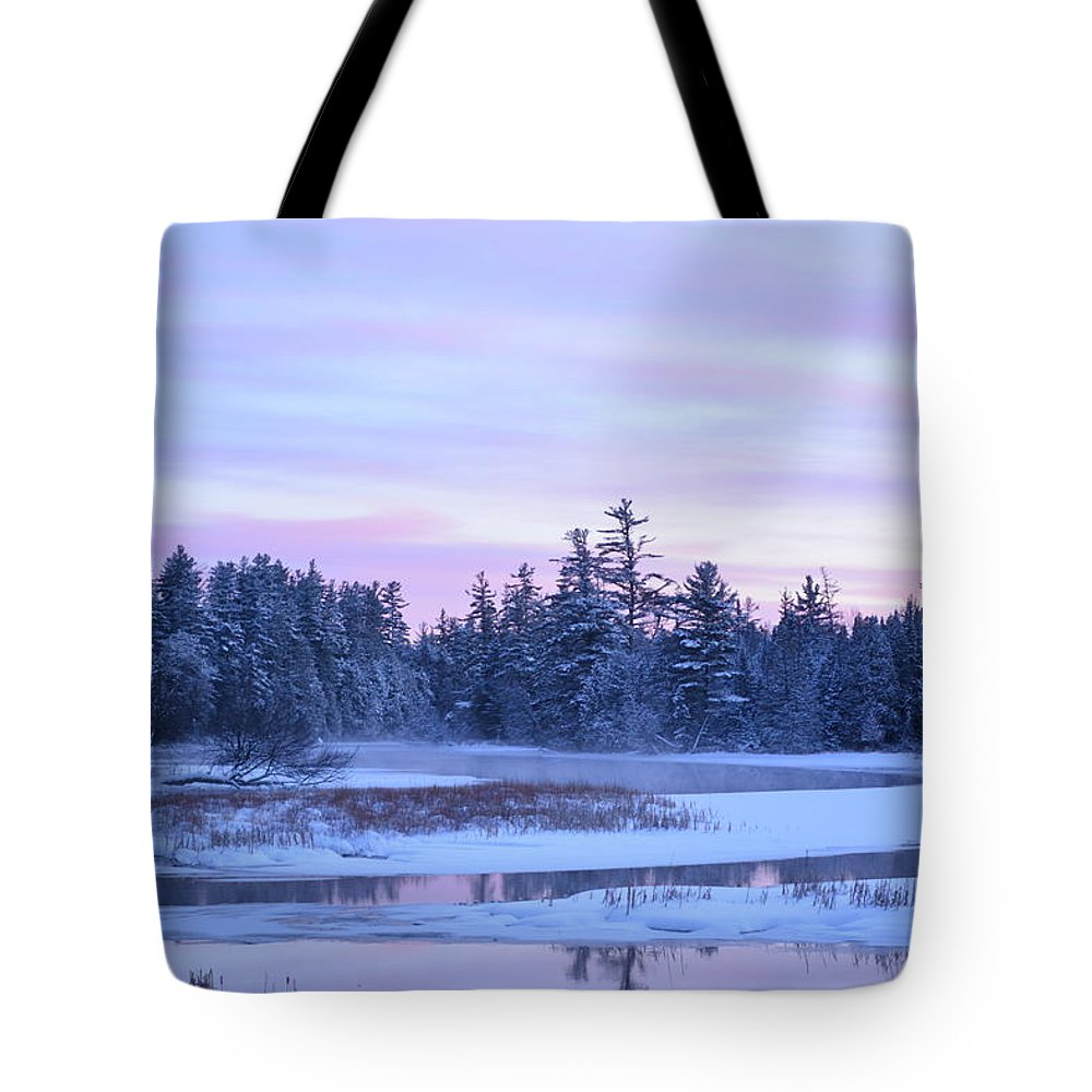 Adirondack Tote Bag featuring the photograph Postcard by Thomas Phillips