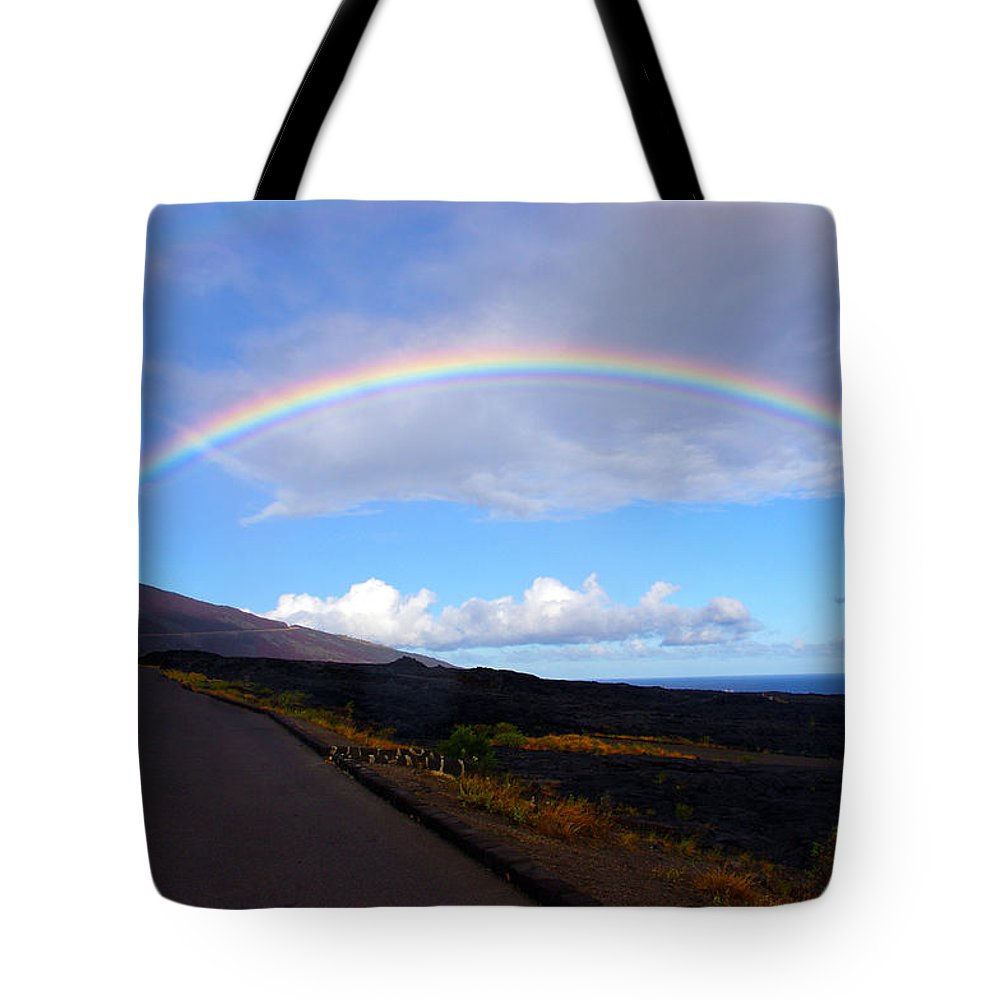 Hawaii Tote Bag featuring the photograph Pot Of Gold by John Dauer