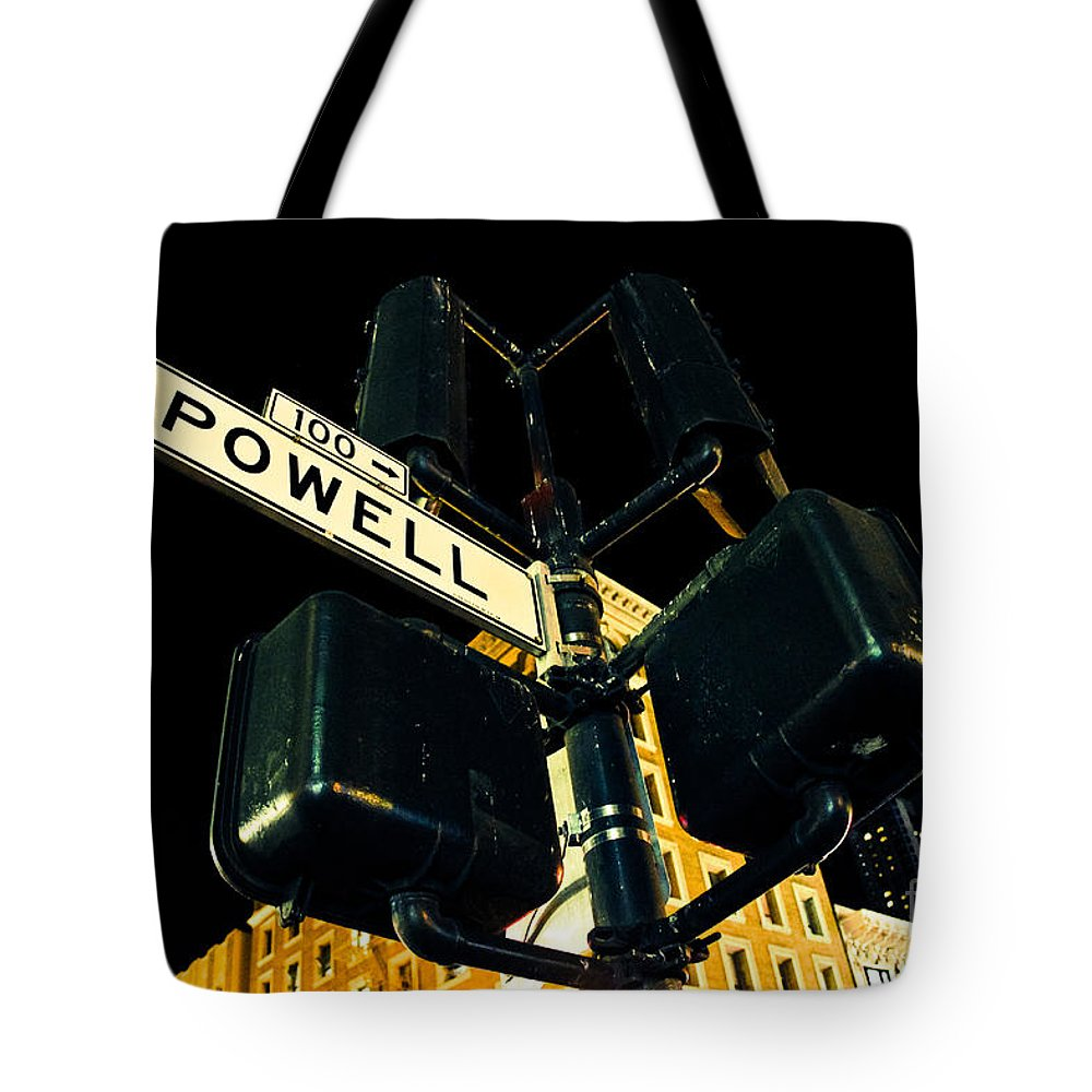 Streets Of San Francisco Tote Bag featuring the photograph Powell Street by Digital Kulprits