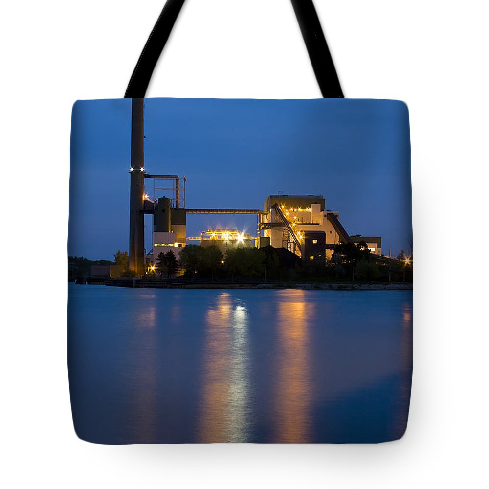 3scape Photos Tote Bag featuring the photograph Power Plant by Adam Romanowicz