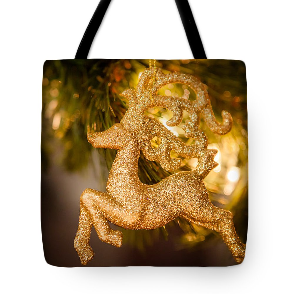 2012 Tote Bag featuring the photograph Prancer by Melinda Ledsome