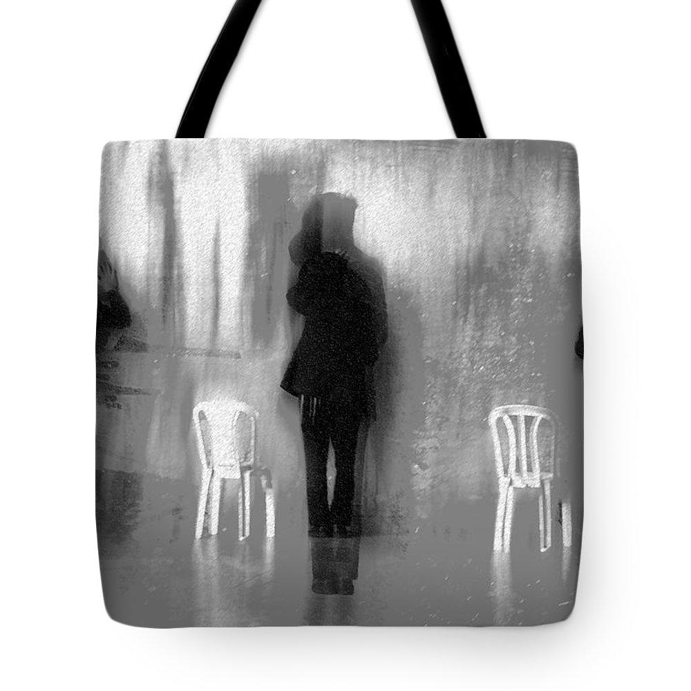 Prayer Tote Bag featuring the digital art Prayer by Moses Benson