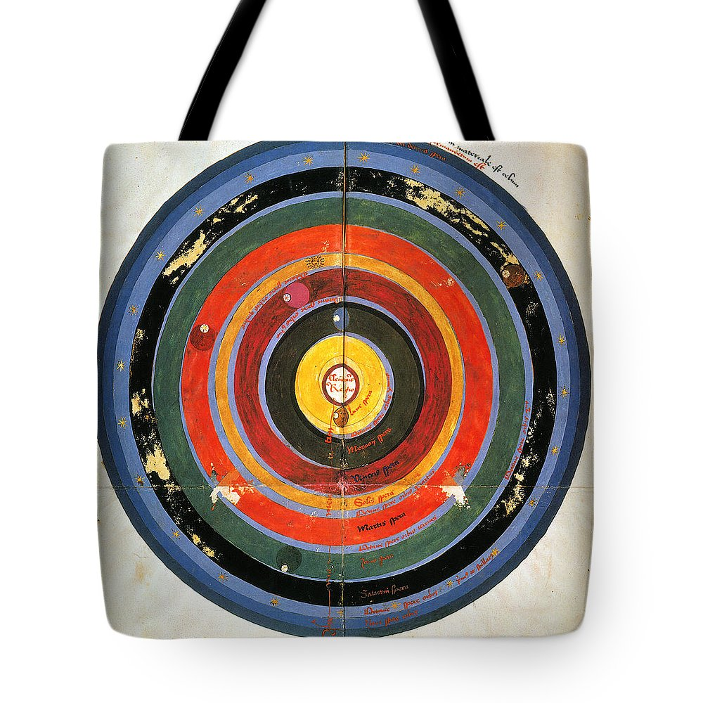 15th Century Tote Bag featuring the photograph Pre-copernican Universe by Granger