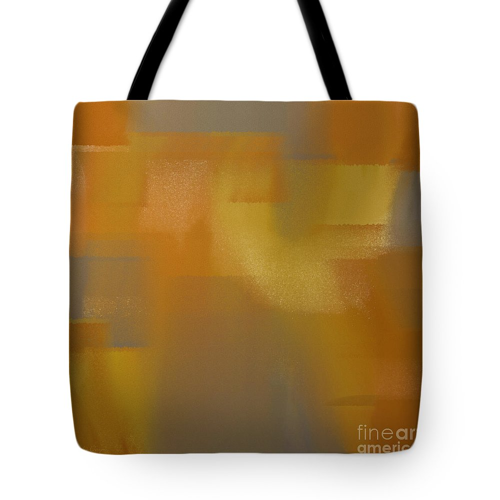 Andee Design Abstract Tote Bag featuring the digital art Precious Metals Abstract 2 by Andee Design