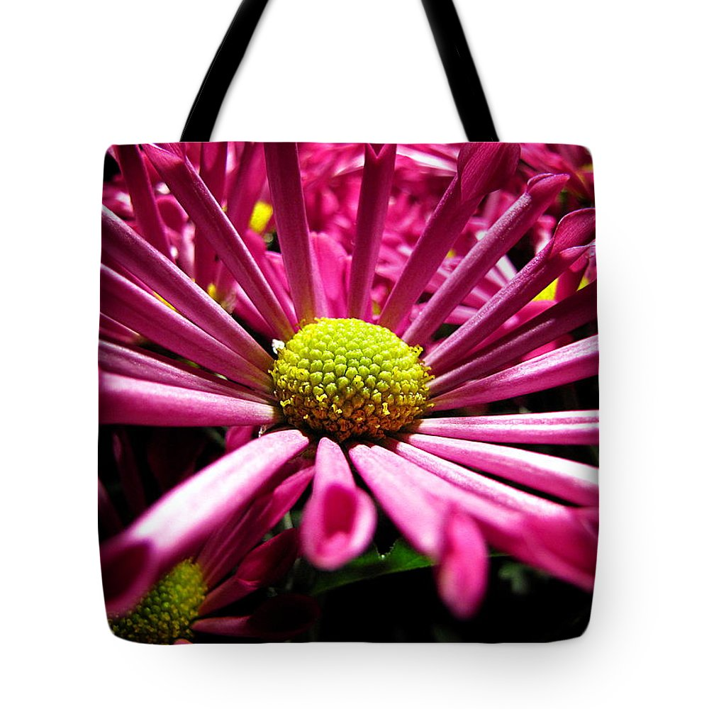 Pink Flower Tote Bag featuring the photograph Pretty In Pink by Greg Simmons