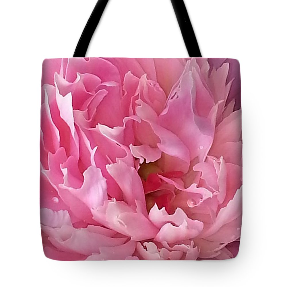 Pretty In Pink Tote Bag featuring the photograph Pretty In Pink by Jessica Tolemy