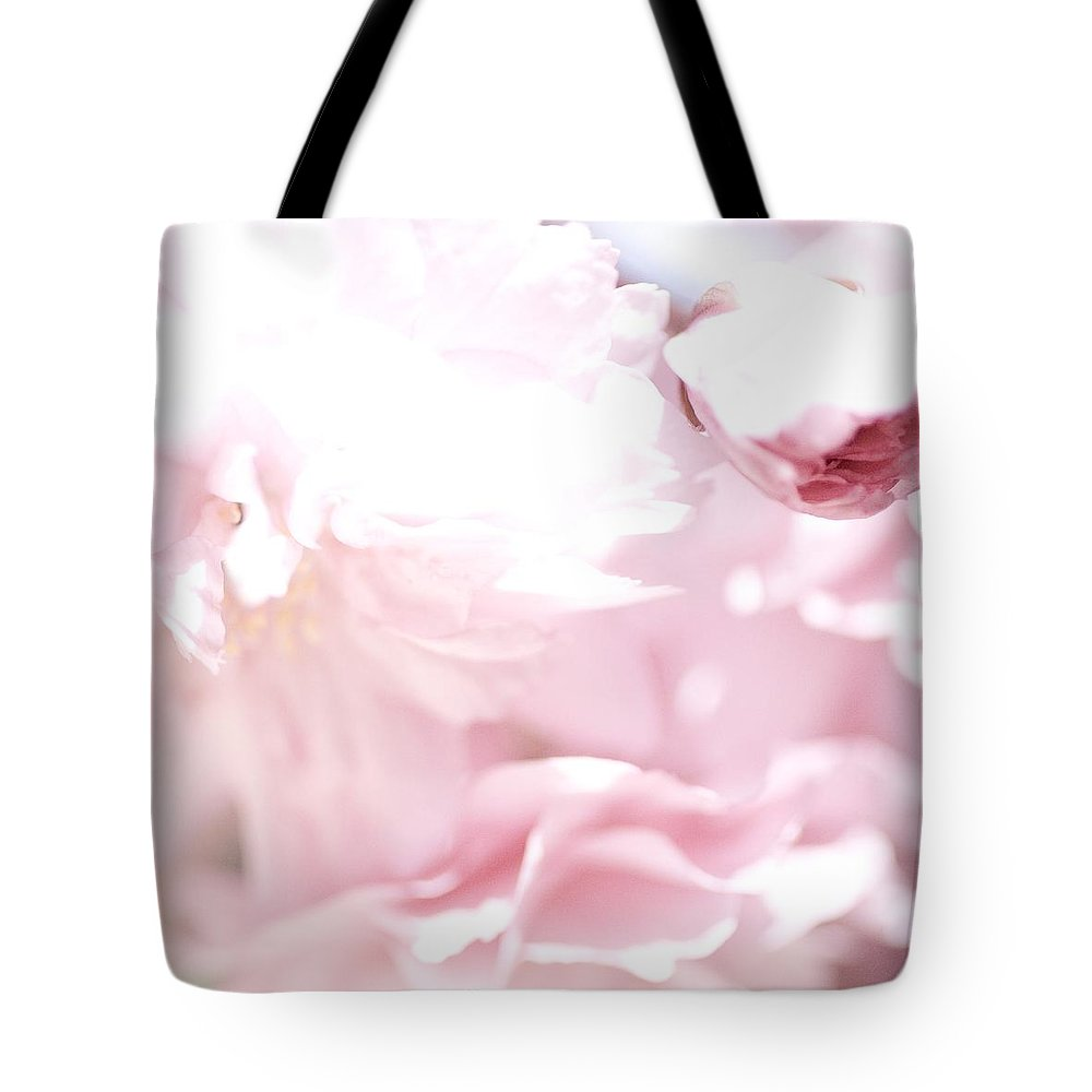 Art Tote Bag featuring the photograph Pretty In Pink - The Sweet One by Lisa Parrish