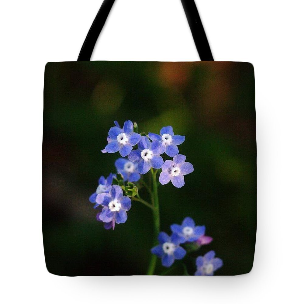 Flowers Tote Bag featuring the photograph Pretty Little Buttons by Jeff Swan