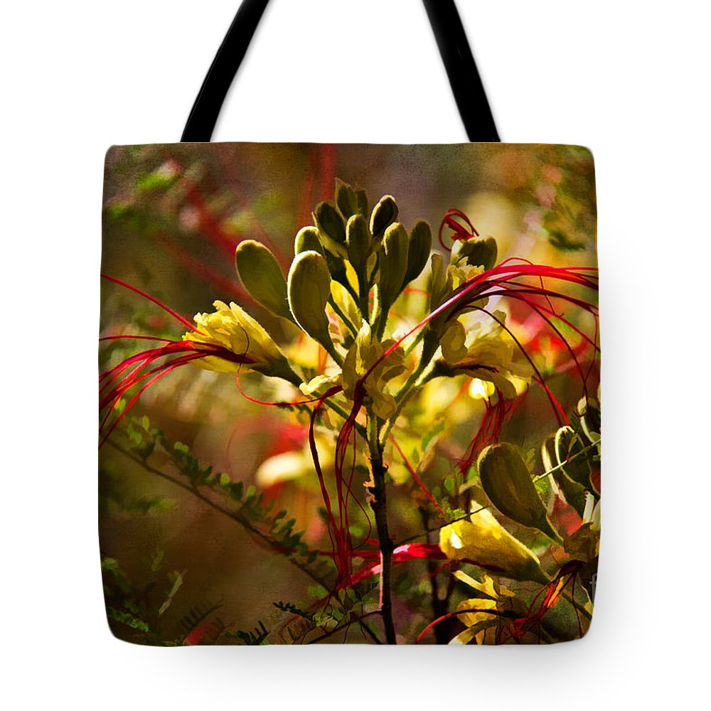 Az Tote Bag featuring the photograph Pride Of Barbados by Lana Trussell