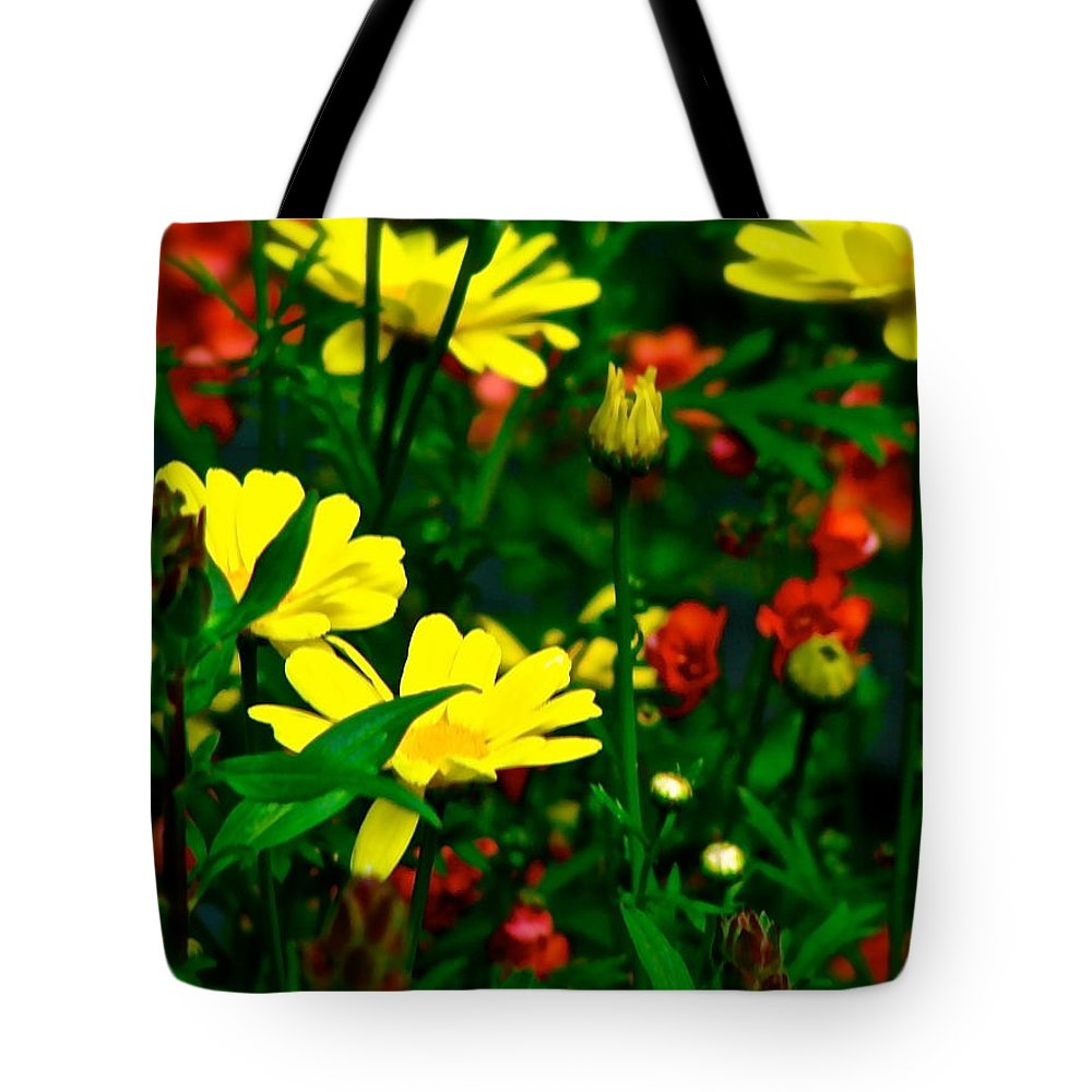 Puck Tote Bag featuring the photograph Puck's Garden by Ira Shander