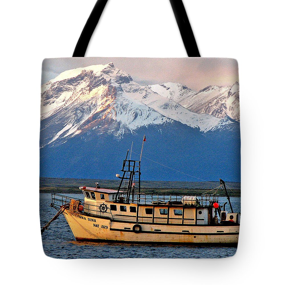 Color Tote Bag featuring the photograph Mama Dina by Rick Locke