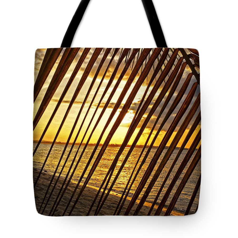 Ocean Tote Bag featuring the photograph Puerto Rico Sunset 2 by Stephen Anderson